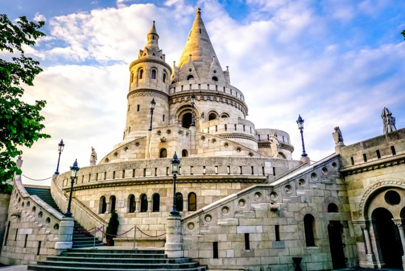 Fisherman's Bastion, Hungary.