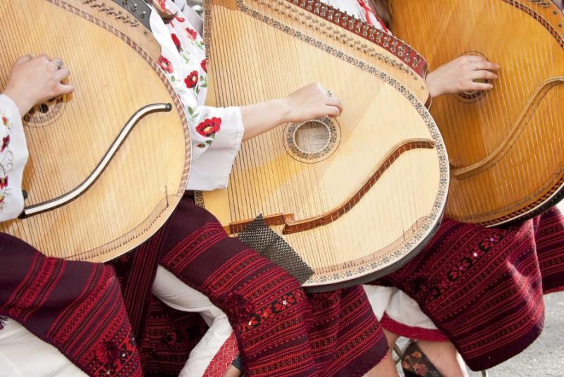 Traditional music in Ukraine.